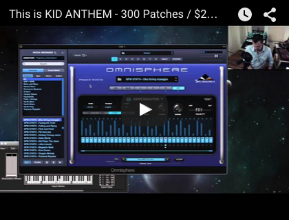 PlugInGuru Kid Anthem for Omnisphere 2 PATCHES